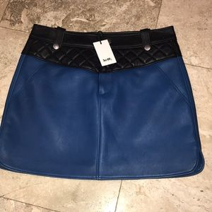 Coach Leather Skirt NWT MAKE AN OFFER!